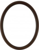 Gilda Walnut Oval Picture Frame