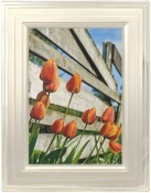 Brushed Silver Step Metal Picture Frame