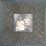 Tessa Antique Black Picture Frame