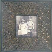 Tessa Antique Black Picture Frame