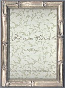Bamboo Silver Leaf Picture Frame