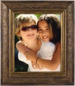 Vines Oil Rubbed Bronze Wood Picture Frame