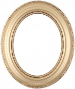 Stella Gold Oval Picture Frame