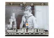 Toy Train Frame with Pewter Finish