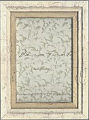Isa Silver Leaf Picture Frame