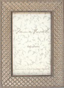 Raffaella Silver Leaf Picture Frame