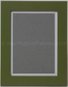 Modern Sage Green Wood Picture Frame