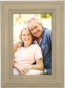 Weathered Antique Grey Picture Frame