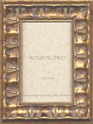 Cassandra Dark Gold Leaf Picture Frame