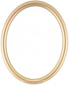 Gilda Gold Oval Picture Frame