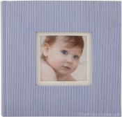 Tender Moments Light Blue Photo Album