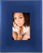 Blue Art Glass Picture Frame