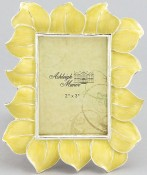 Yellow Hibiscus Flower Picture Frame