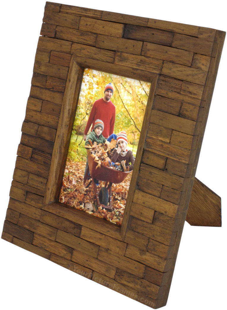 Handcrafted Teak Wood Picture Frame