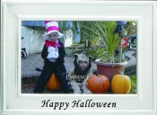 Happy Halloween Holiday Picture Frame