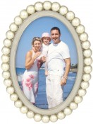 Tahitian Pearl Oval Picture Frame
