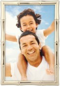 Silver Bamboo Decorative Picture Frame
