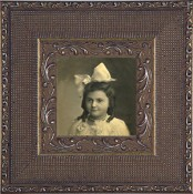 Leticia Silver Leaf Picture Frame