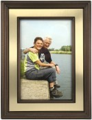 Verona Gold and Bronze Picture Frame