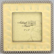 Yellow Enamel Square Picture Frame