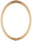 Nora Ornate Gold Spray Oval Picture Frame
