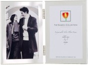 Silver Plated Double Picture Frames