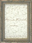 Amelia Silver Leaf Picture Frame