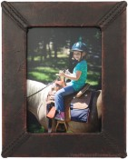 Durham Handmade Leather Picture Frame