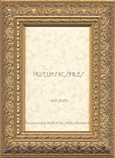 Gabriela Gold Leaf Picture Frame