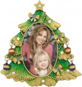 Decorated Christmas Tree Picture Frame