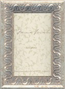 Michela Silver Leaf Picture Frame