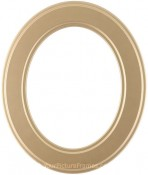 Bianca Gold Oval Picture Frame