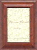 Mahogany Burl Wood Frame