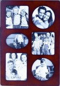 Contemporary Walnut Collage Picture Frame