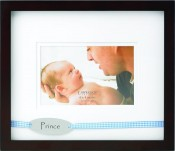 Prince Picture Frame with Blue Ribbon
