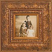 Trista Gold Leaf Picture Frame