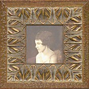 Evelina Ornate Gold Leaf Picture Frame