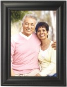 Classic Rope Black Metal Picture Frame