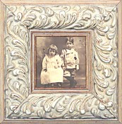 Evangelina Ornate White Picture Frame