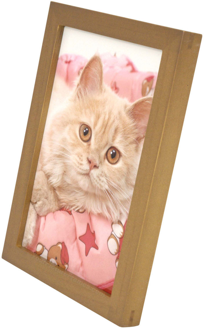 Simple Nutmeg Wood Picture Frame