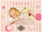 Pink I Love My Aunt Picture Frame