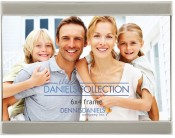 Enameled Letterbox Slate Grey Frame