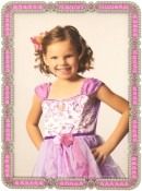 Nina Pink Jeweled Picture Frame