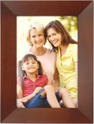 Dark Brown Frame with Angled Molding