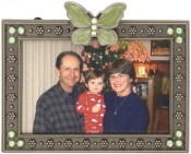 Petite Butterfly Picture Frame