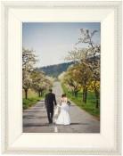 Tuxedo White Picture Frame