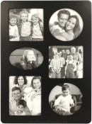 Contemporary Black Collage Picture Frame