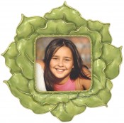 Green Rose Decorative Picture Frame