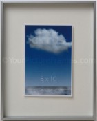 Cirrus Silver Floating Picture Frame