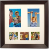 Monarch Archival Brown Collage Picture Frame